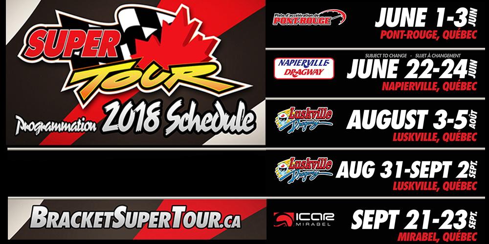 Super Canadian tour 2018